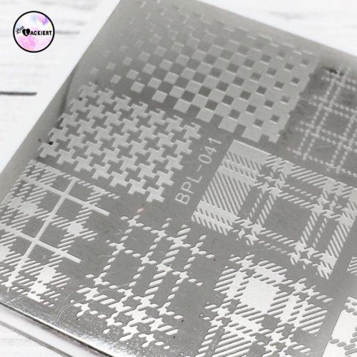 Born Pretty Stamping Plate BPL-041