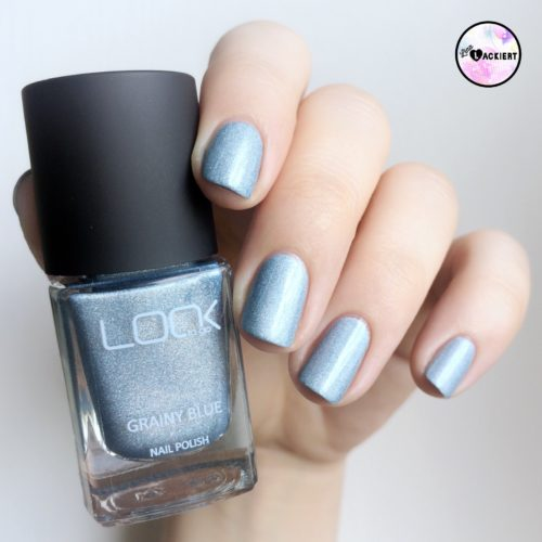 Grainy Blue aus der LOOK to go Holograph Collection