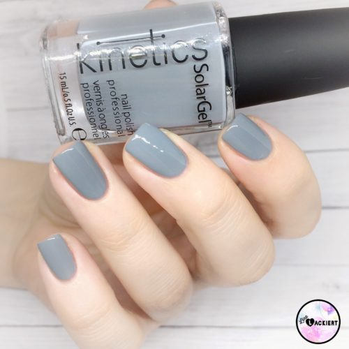Iceland Grey Kinetics Nai polish