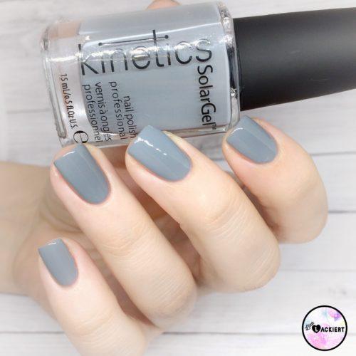 Iceland Grey Kinetics Nai polish