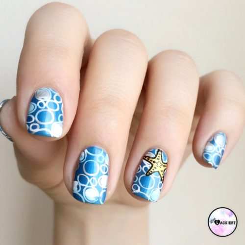 Nail Art Under the sea