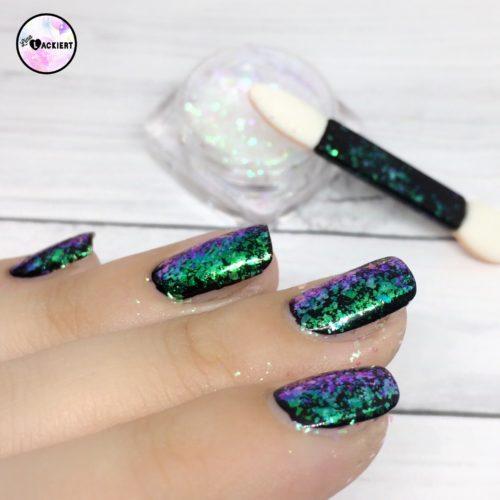 Beauty Bigbang Chameleon Flakes Anwendung