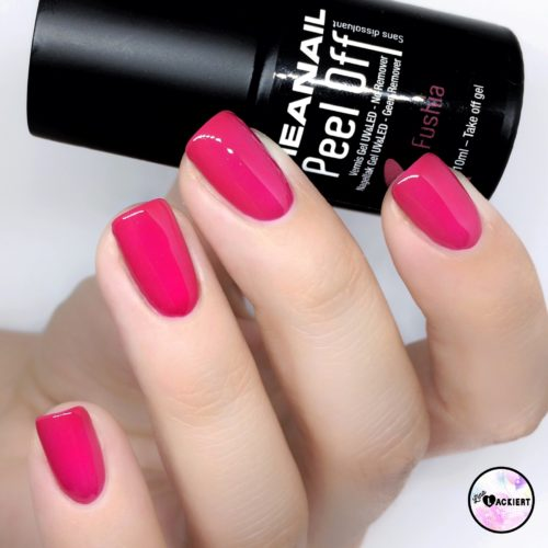 Meanails Peel Off Fushia