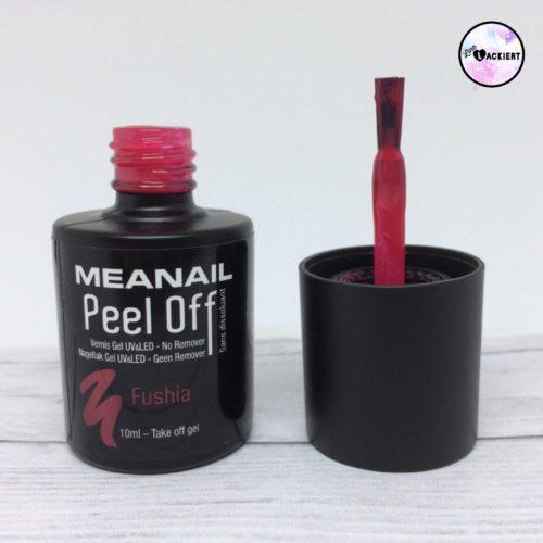 Plastimea Meanail Peel Off Nagellack Fushia
