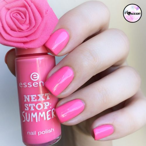 essence nail polish made for sunny days