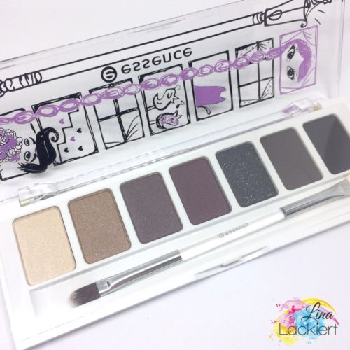 essence lidschattenpalette 03 & our secret date at midnight