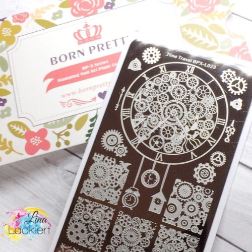 Born Pretty Stamping Plate Time Travel BPX-L023