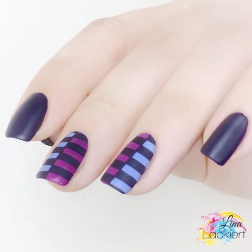 Frischlackiert Challenge Color Blocking Nails