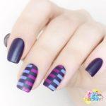 Color Blocking Nails für die Frischlackiert Challenge