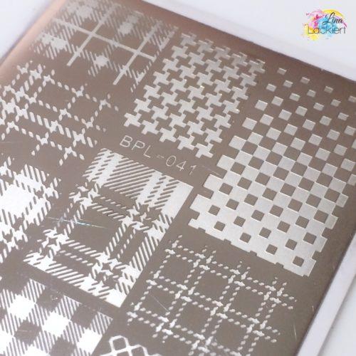 Stamping Platte BPL-041 Born Pretty