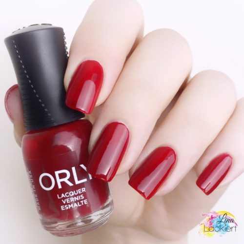 Orly Darlings of defiance stiletto on the run