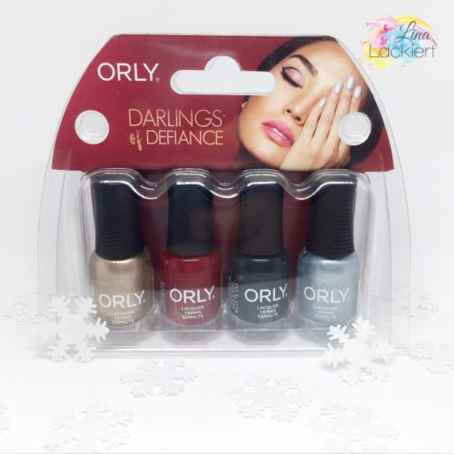 Orly Mani Minis Darlings of defiance