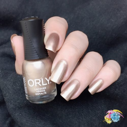 Orly darlings of defiance champagne slushie