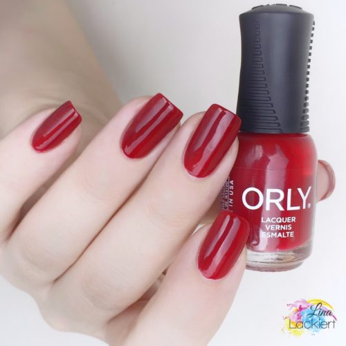 Orly nail polish stiletto on the run