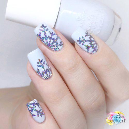 Snowflake Nailart