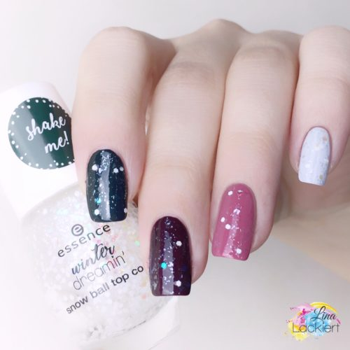essence snowball top coat winter dreamin TE