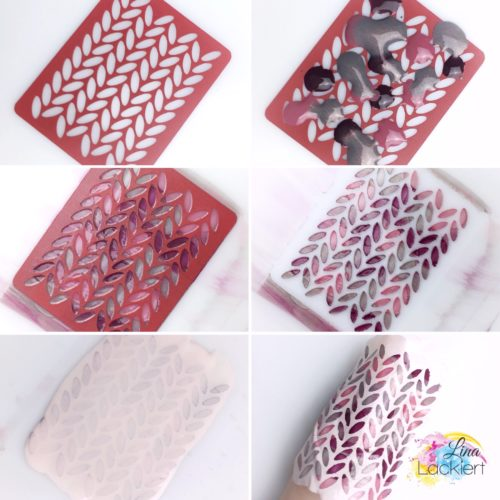 How to Knitted Nail Art