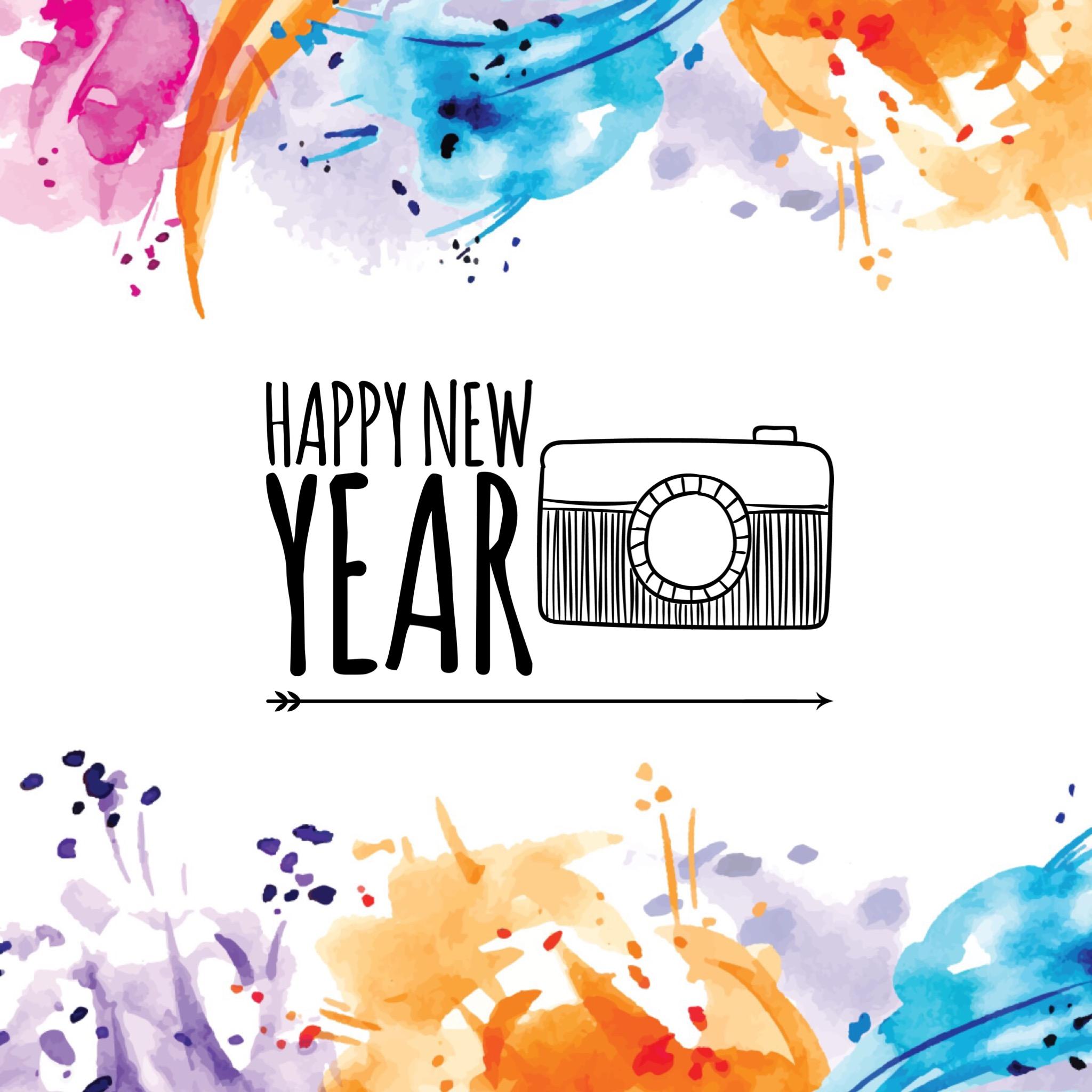 Frohes neues Jahr 2017/18 wünscht Lina Lackiert