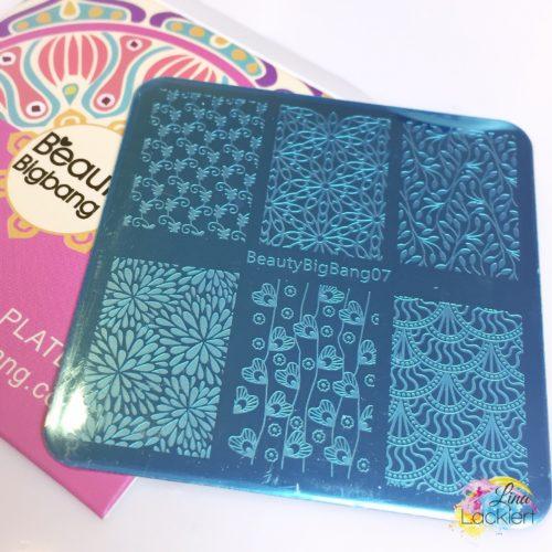 Stamping Plate BeautyBigBang07