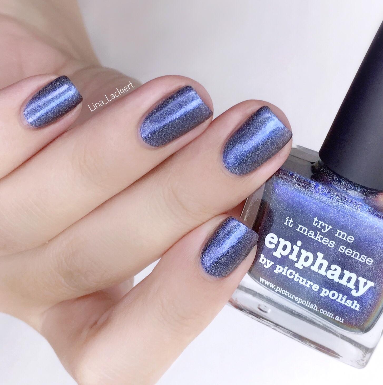 Picture polish Holo nail polish epiphany