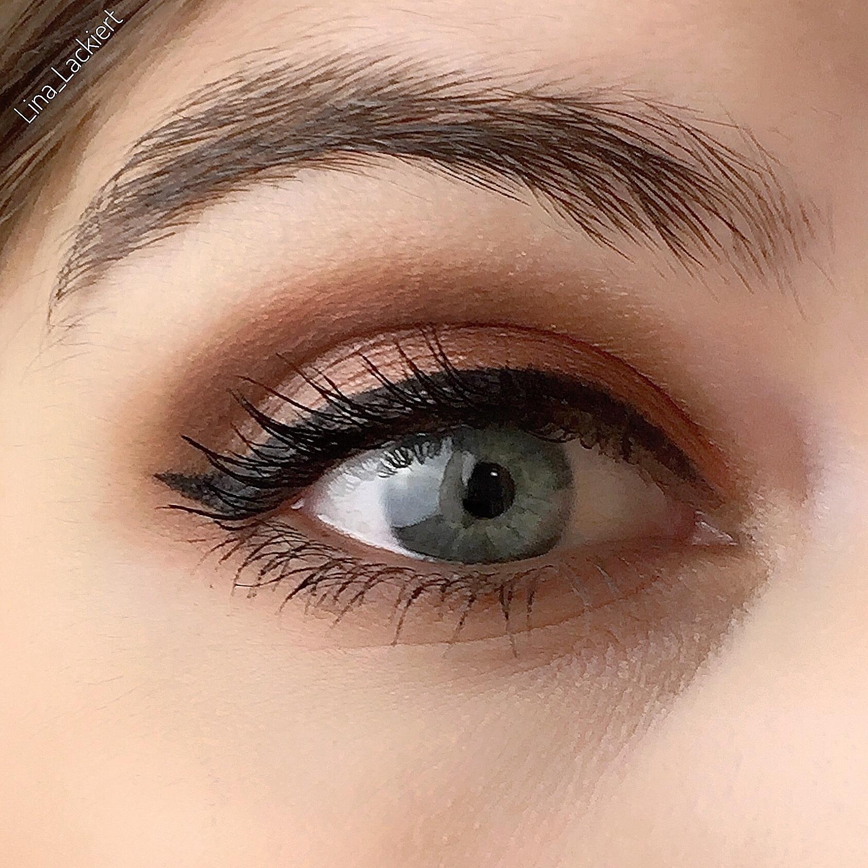 Augen Make-up mit der desert heat eyeshadow Palette von essence