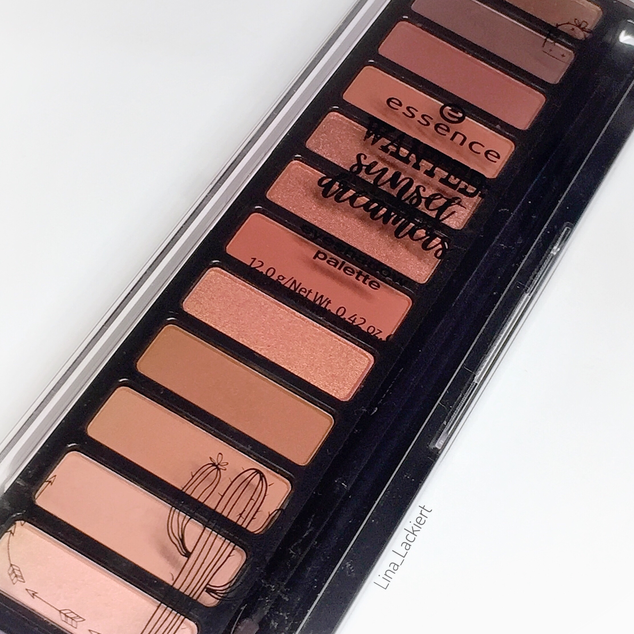 essence wanted sunset dreamers eyeshadow palette