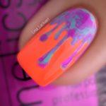 Vorsicht knallig | Tropfen über Neon