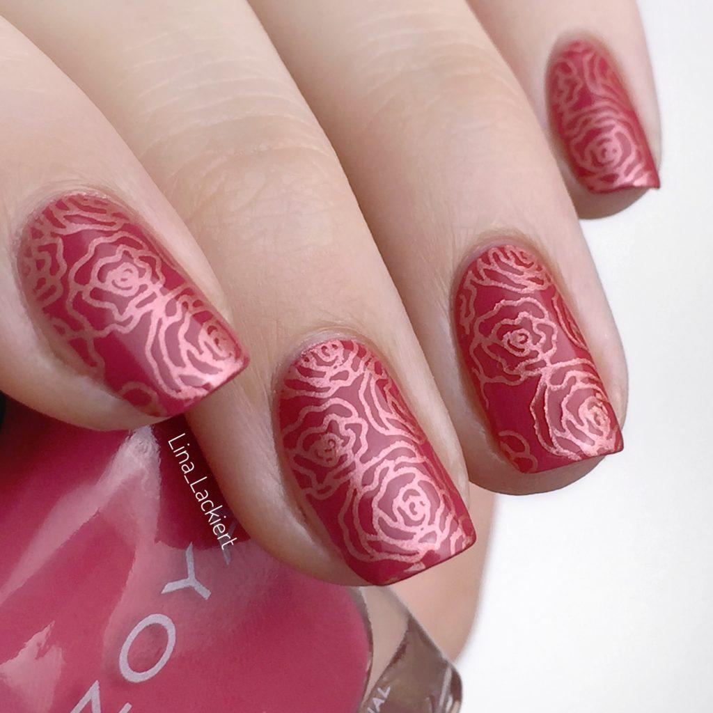 Rosen Stamping Nailart